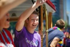 Mark Zuckerberg al Gay Pride San Francisco